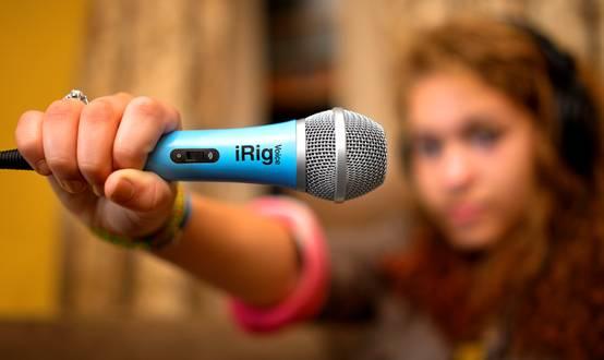 ik multimedia发售移动设备k歌麦克风irig voice
