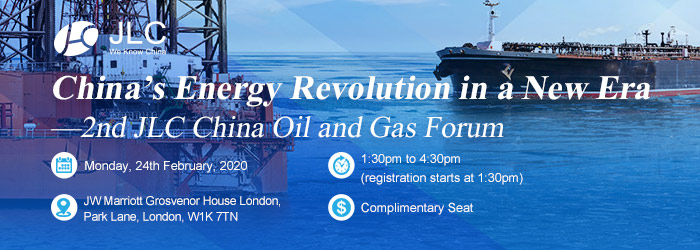 China's Energy Revolution in a New Era —2nd JLC China Oil and Gas Forum