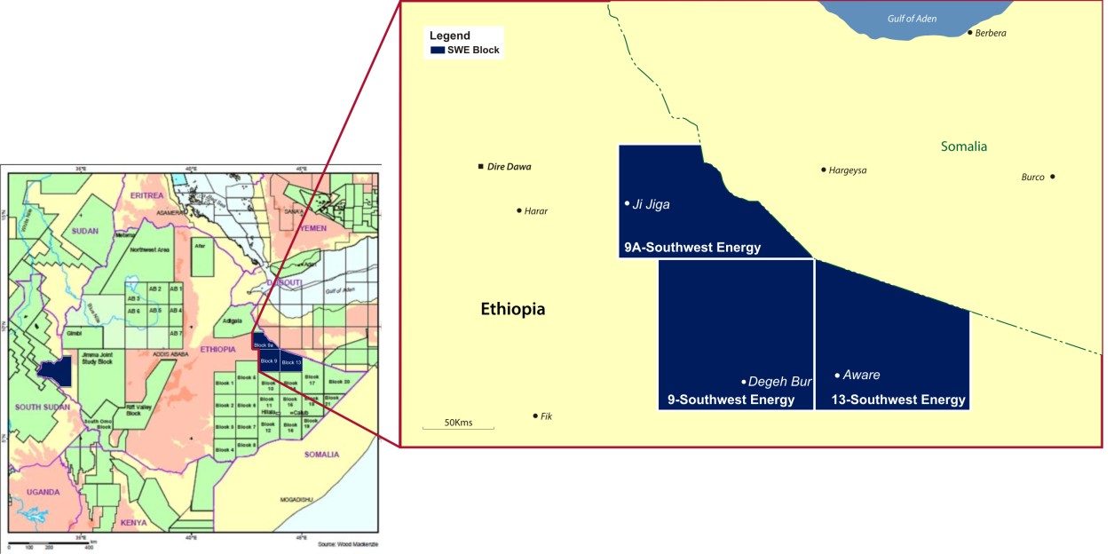 Ethiopia's SouthWest Energy Releases Competent Persons Report –Net