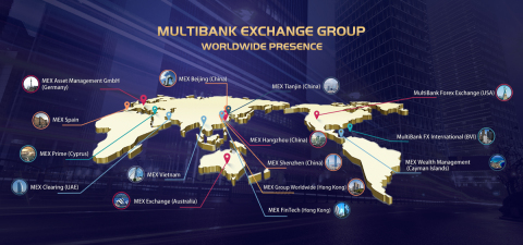 MultiBank Exchange Group全球网点(图示:美国商业资讯)