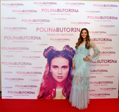 Polina Butorina现身首张专辑《Ocean of Emotions》发布现场 - (照片:AETOSWire)