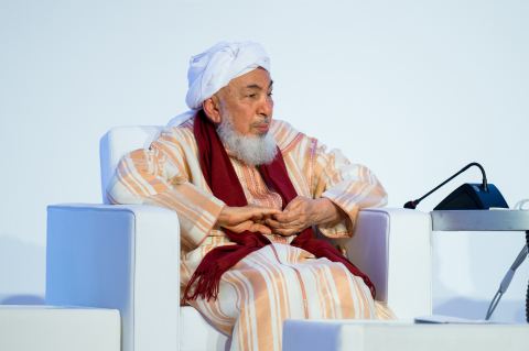 H.E Shaykh Abdallah bin Bayyah President of the Forum for Promoting Peace in Muslim Societies (Photo: AETOSWire)