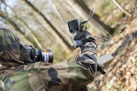 新型多探头军用侦测仪SaphyRAD MS。版权所有:Thomas Léaud