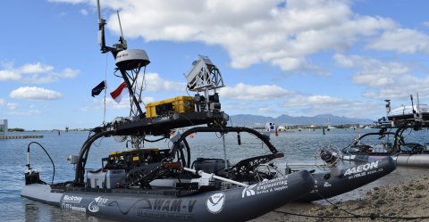 Through the Maritime RobotX Challenge, next-generation engineers learn how Velodyne lidar 3D perception empowers autonomous vessels. (Photo: Business Wire)