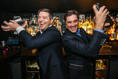 Bacardi Global Advocacy Director Jacob Briars and CMO John Burke at Back to the Bar 2018. (Photo: Business Wire)
