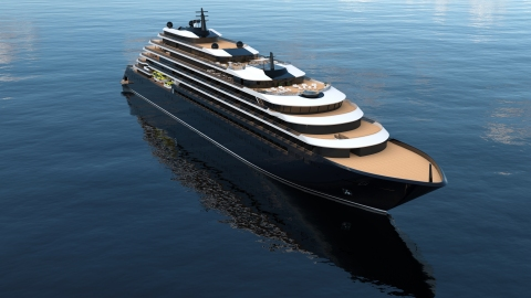 The Ritz-Carlton Yacht Collection to Provide Luxury Connectivity Experience Powered by SES Networks (Photo: Business Wire)