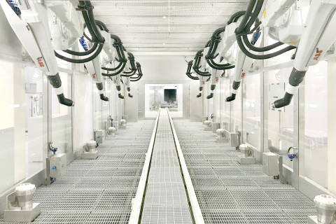 ABB Robotics painting solutions (Photo: Business Wire)