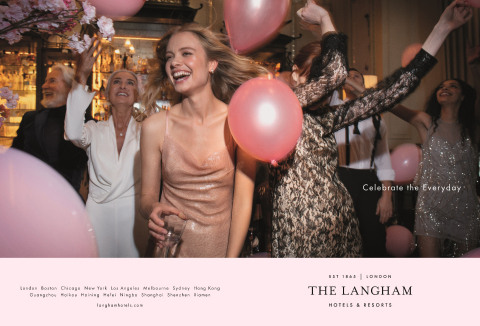 "The Langham Hotels & Resorts launches New Global Brand Campaign: ""Celebrate The Everyday"" (Photo: Business Wire)"