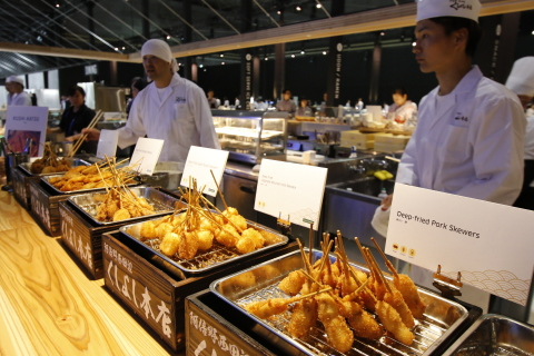 G20 Osaka Summit Live Kitchen (Photo: Business Wire)