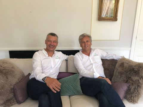 William Lecerf and Valéry Linyer, co-founders of MagicStay (Photo: MagicStay)