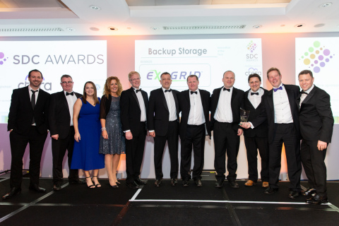 "ExaGrid was voted ""Backup Storage Innovation of the Year"" in the Storage, Digitalisation + Cloud (SDC) Awards 2019. (Photo: Business Wire)"