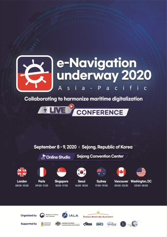 The Republic of Korea's Ministry of Oceans and Fisheries (MOF) is hosting a virtual e-Navigation Underway Conference (ENUW) from September 8th to 9th under the theme of 'Collaborating to harmonize maritime digitalization'. The Conference will be held using a virtual platform and is being co-organized with the Danish Maritime Administration (DMA) and the International Association of Marine Aids to Navigation and Lighthouse Authorities (IALA). (Graphic: Business Wire)