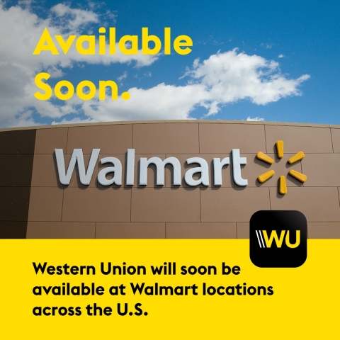 Walmart and Western Union Enter Agreement to Offer Western Union Money Transfers at Walmart (Photo: Business Wire)