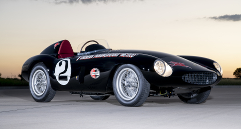 1954 Ferrari 750 Monza wins The Peninsula Classics 2020 Best of the Best Award (Photo Copyright: Jay Miller)