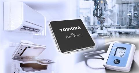 东芝发布TXZ+TM系列首批高级产品——用于电机控制的Arm® Cortex®-M4微控制器