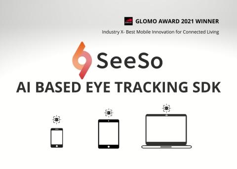 VisualCamp旗下眼球追踪SDK SeeSo荣获2021年度GLOMO大奖