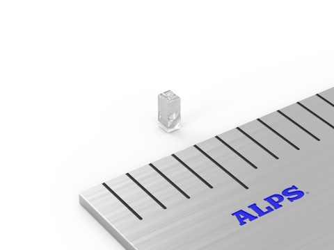 Alps Electric Narrow Aspherical Glass Lens with Chucking Area (Photo: Business Wire)