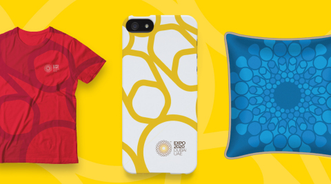 Examples of Expo 2020 Dubai-branded merchandise (Photo: ME NewsWire)