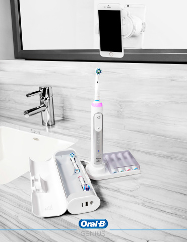 Oral-B GENIUS. Brush like your dentist recommends for improved oral health. (Photo: Business Wire)