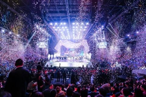 阿里巴巴第三屆年度雙11全球購物狂歡節晚會(照片:美國商業資訊)