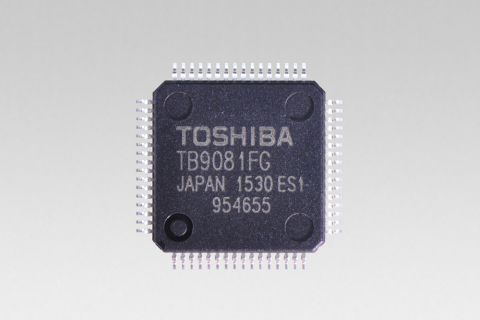 Toshiba launches brushless motor pre driver ic for for Brushless motor driver ic
